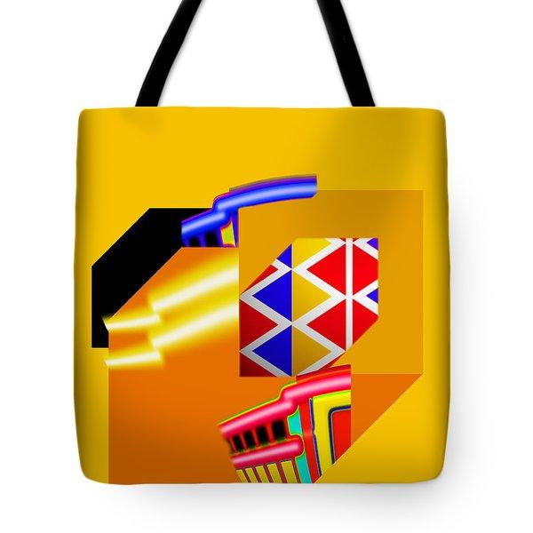 Banana Boat Tote Bag by Charles Stuart