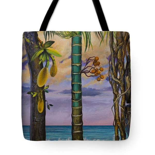 Banana Country Tote Bag by Vrindavan Das