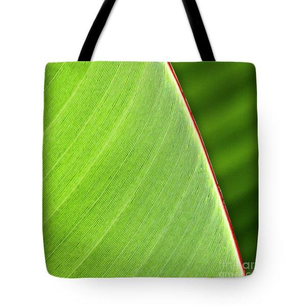 Banana Leaf Tote Bag by Heiko Koehrer-Wagner