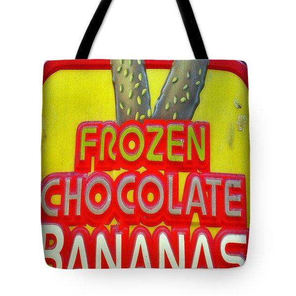 Bananas Tote Bag by Skip Willits
