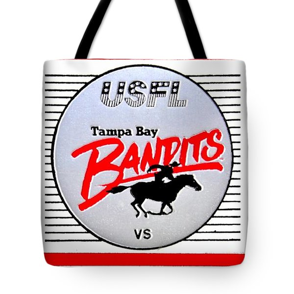 Bandit Ball Tote Bag by Benjamin Yeager