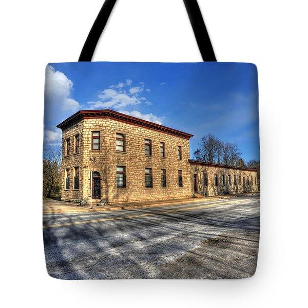 Bank Of Glen Jean Tote Bag by Dan Friend