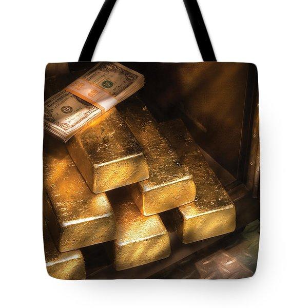 Banker - My Precious Tote Bag by Mike Savad