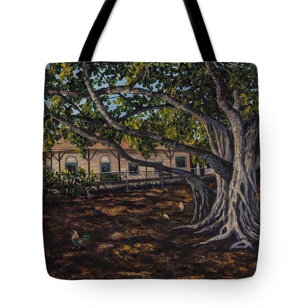 Banyan Tree Tote Bag by Darice Machel McGuire