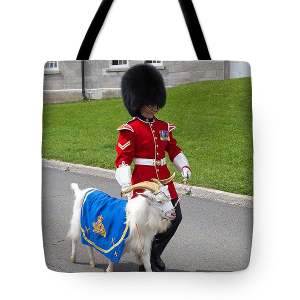 Baptiste the Goat Tote Bag by Edward Fielding