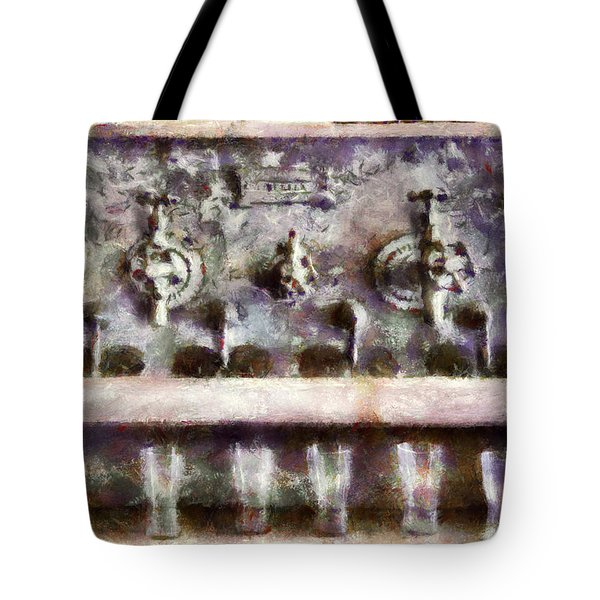 Bar - For a real Jerk Tote Bag by Mike Savad