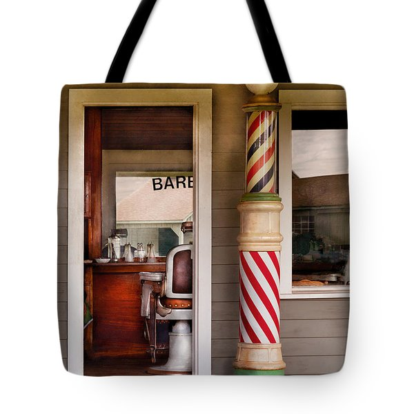 Barber - I need a hair cut Tote Bag by Mike Savad