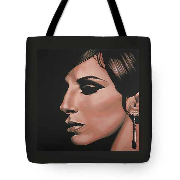 Barbra Streisand Tote Bag by Paul Meijering