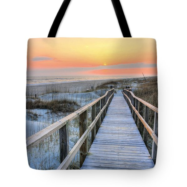 Barefoot Tote Bag by JC Findley