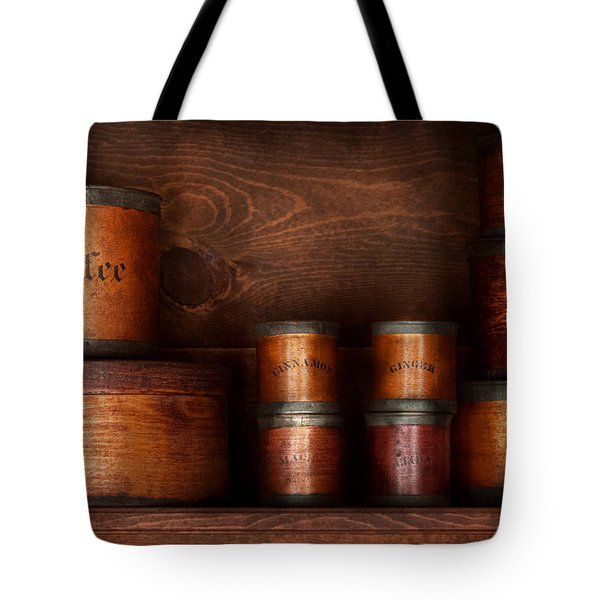 Barista - Coffee - Coffee and spice Tote Bag by Mike Savad