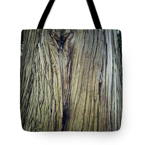 Bark Tote Bag by Les Cunliffe