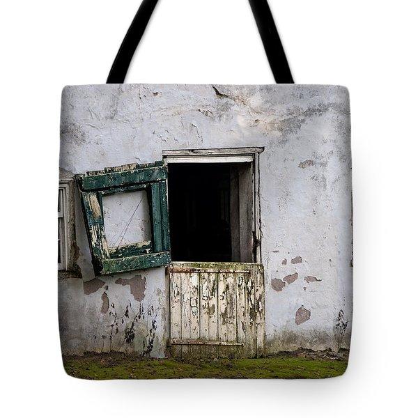 Barn Door In Need Of Repair Tote Bag by Bill Cannon