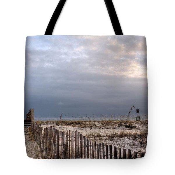 Barrancas Beach Tote Bag by JC Findley