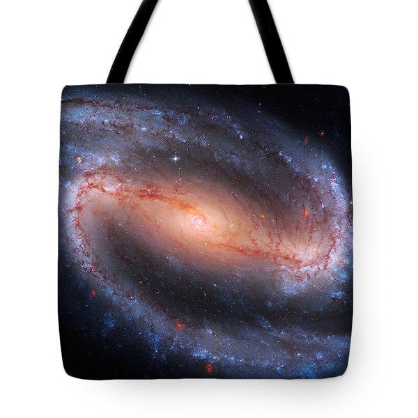 Barred Spiral Galaxy Ngc 1300 Tote Bag by Don Hammond