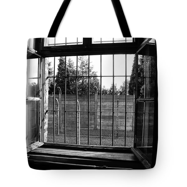 Bars of Misery Tote Bag by Mountain Dreams