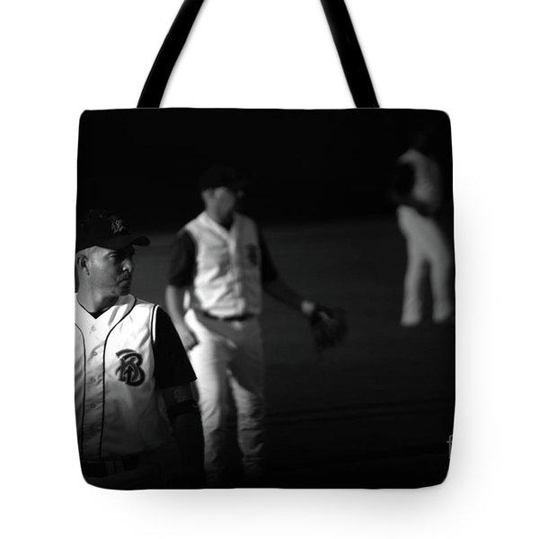 Baseball Days Tote Bag by Karol Livote