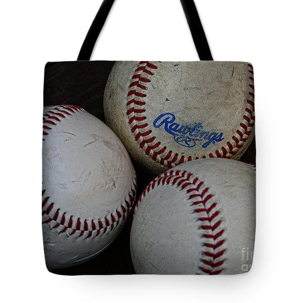 Baseball - The American Pastime Tote Bag by Paul Ward