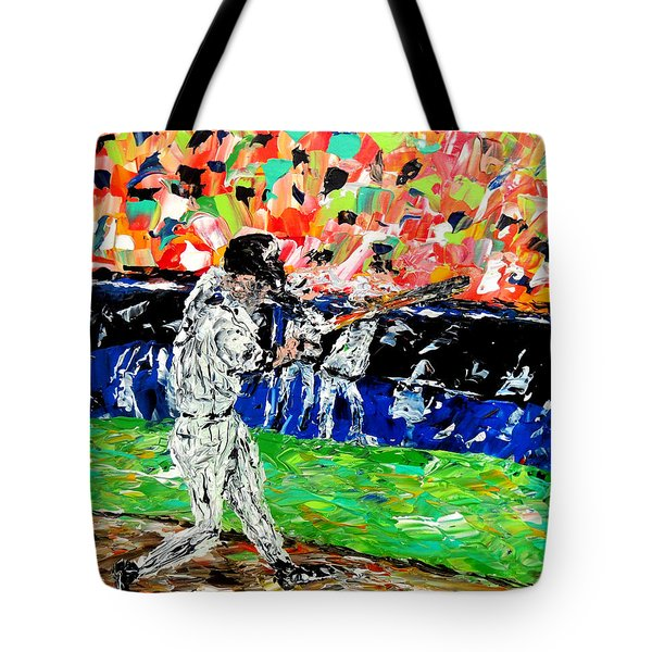 Bases Loaded  Tote Bag by Mark Moore