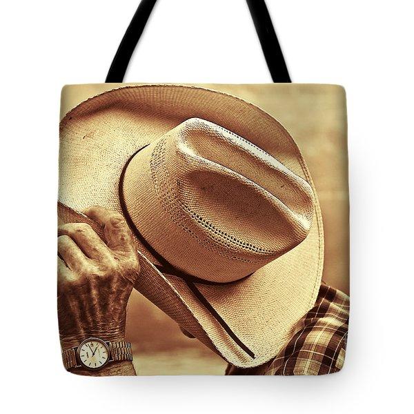 Bashful Tote Bag by Sandi Mikuse