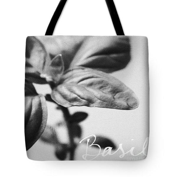 Basil Tote Bag by Linda Woods