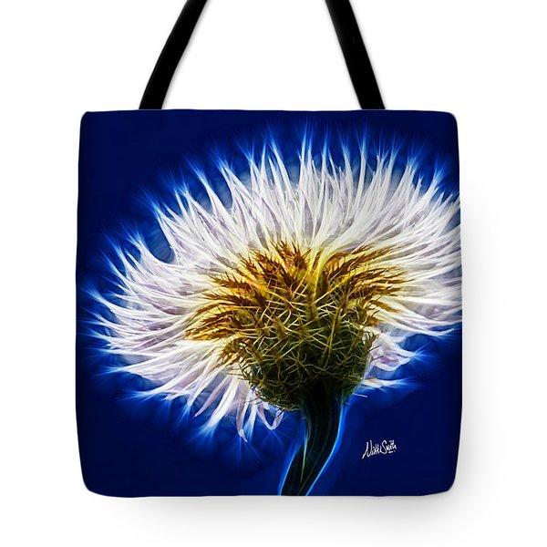 Basket Flower Inner Beauty Tote Bag by Nikki Marie Smith