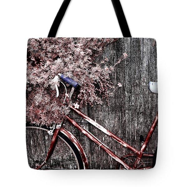 Basket Full Tote Bag by Mark Kiver