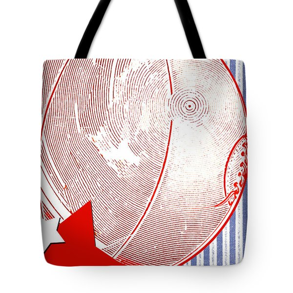 Basketball Americana Tote Bag by ArtyZen Kids