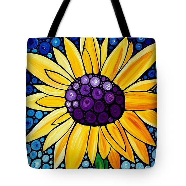 Basking In The Glory Tote Bag by Sharon Cummings
