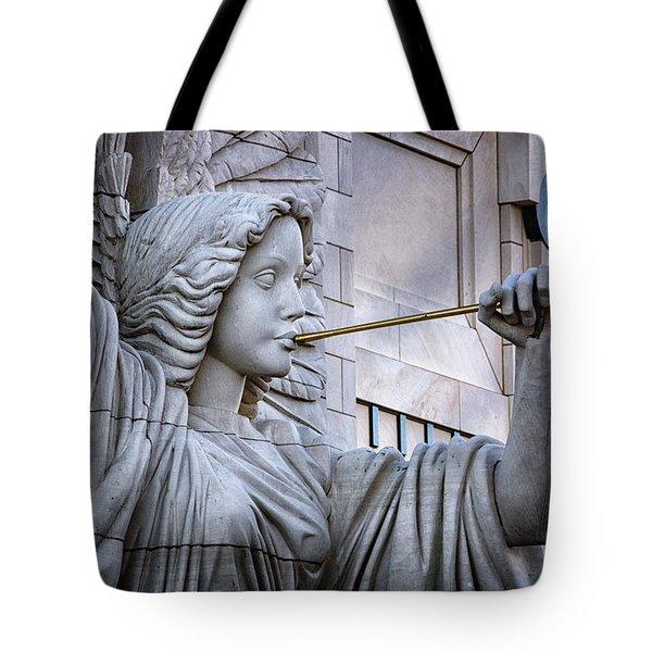 Bass Hall Angel Tote Bag by Joan Carroll