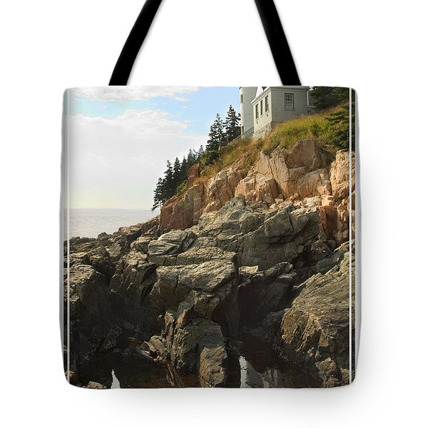 Bass Harbor Head Lighthouse Tote Bag by Mike McGlothlen