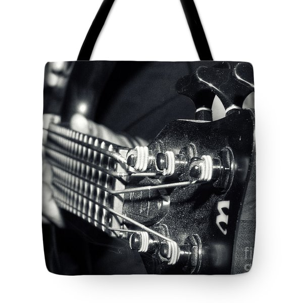 Bass  Tote Bag by Stelios Kleanthous