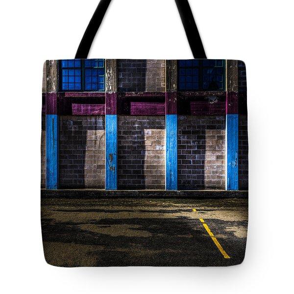Bates Mill  Morning Light Tote Bag by Bob Orsillo