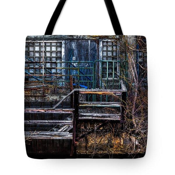 Bates Mill No 5 Tote Bag by Bob Orsillo
