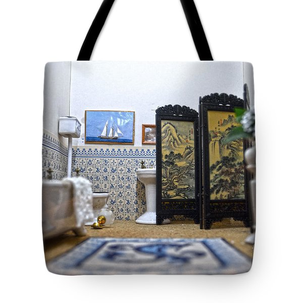 Bathroom For Royal Dolls Tote Bag by RicardMN Photography