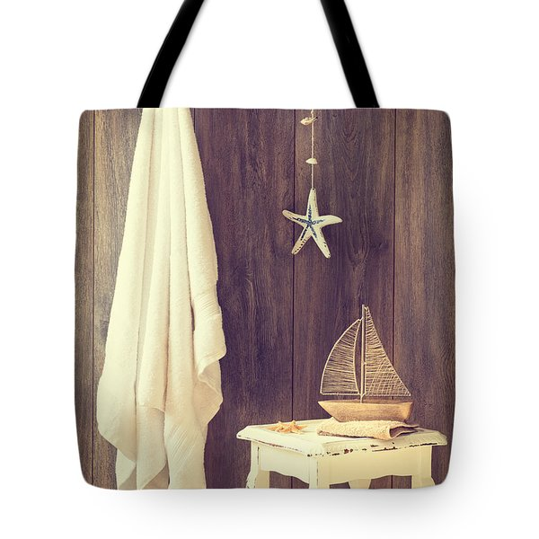Bathroom Interior Tote Bag by Amanda And Christopher Elwell