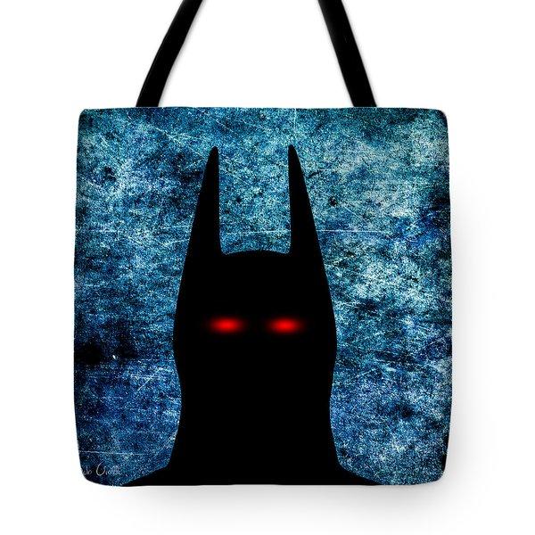 Batman - Dark Knight Number 1 Tote Bag by Bob Orsillo