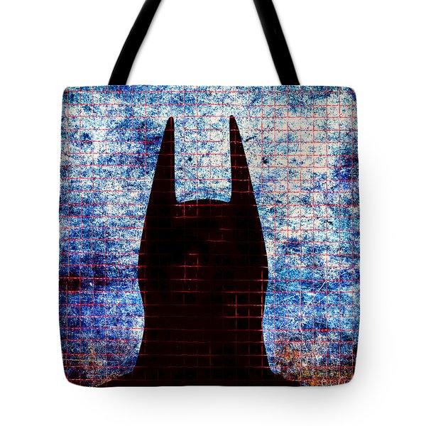 Batman - Dark Knight Number 3 Tote Bag by Bob Orsillo