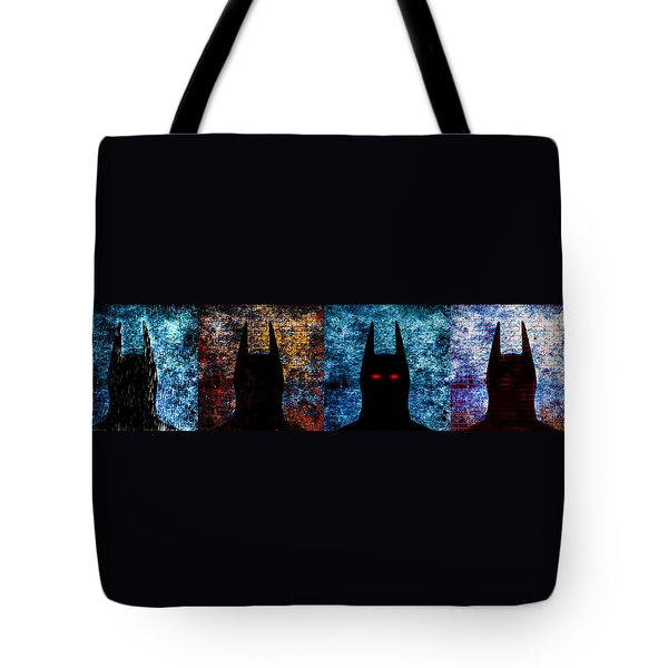 Batman - The Dark Knight Tote Bag by Bob Orsillo