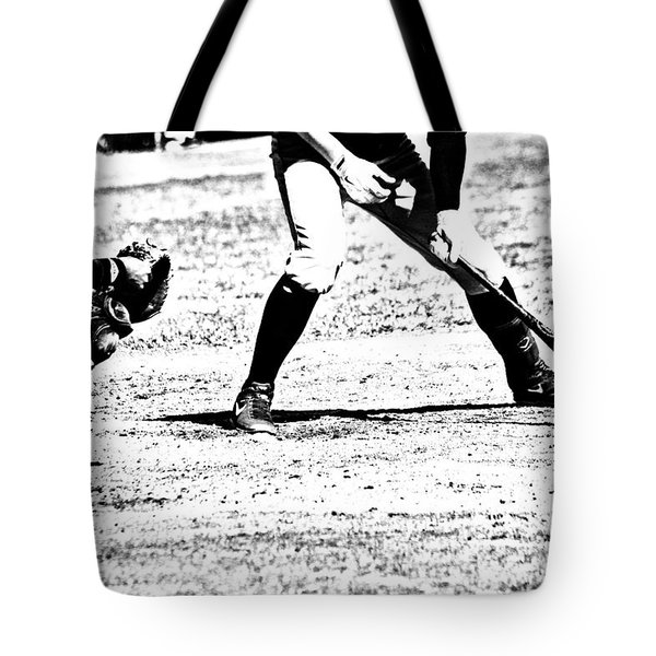 Batter Up Tote Bag by Karol  Livote