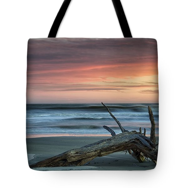 Battered Driftwood Tote Bag by Phill Doherty