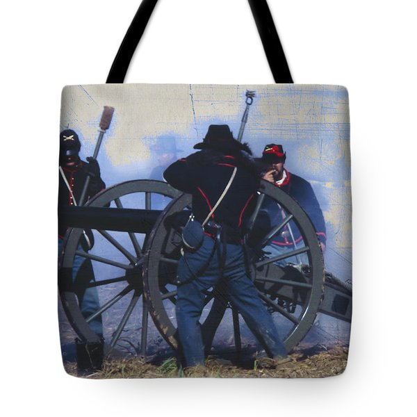 Battle of Franklin - 1 Tote Bag by Kae Cheatham