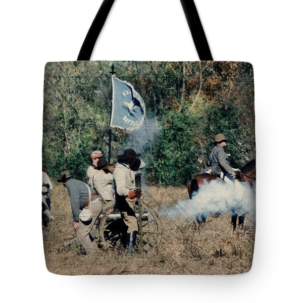 Battle of Franklin - 3 Tote Bag by Kae Cheatham