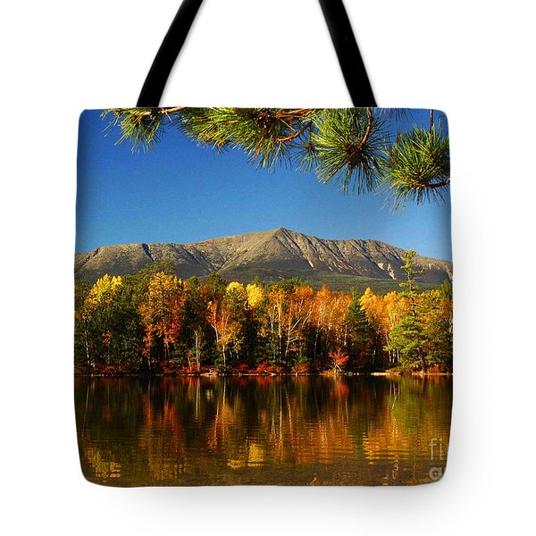 Baxter Fall Reflections  Tote Bag by Alana Ranney