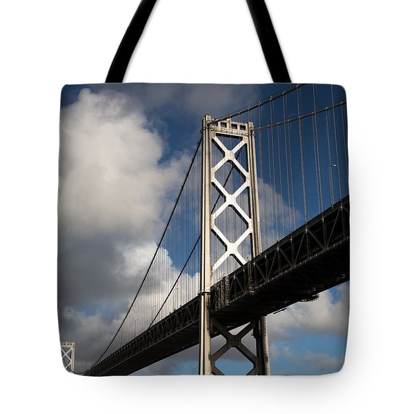 Bay Bridge after the Storm Tote Bag by John Daly
