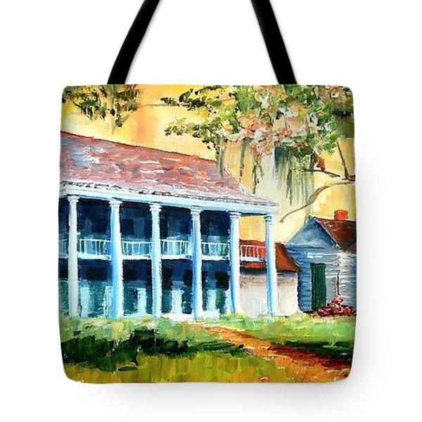 Bayou Country Tote Bag by Diane Millsap