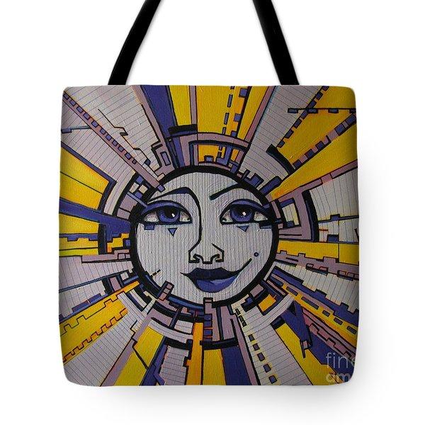 Bazinga - Sun Tote Bag by Grace Liberator