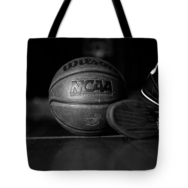 bball Tote Bag by Molly Picklesimer