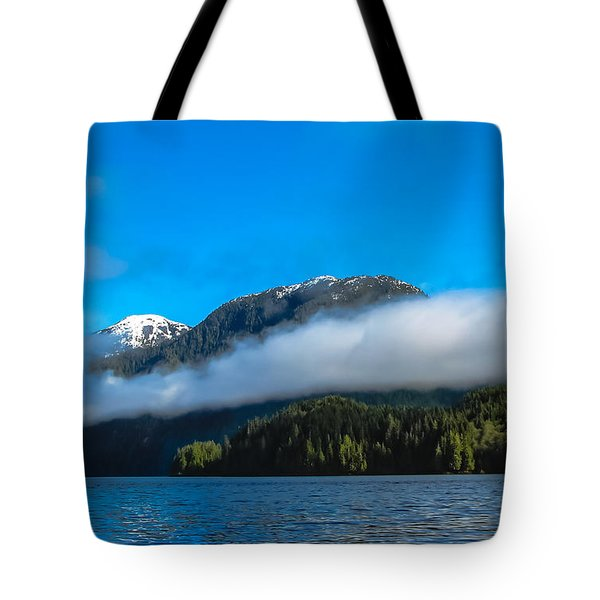 BC Coastline Tote Bag by Robert Bales