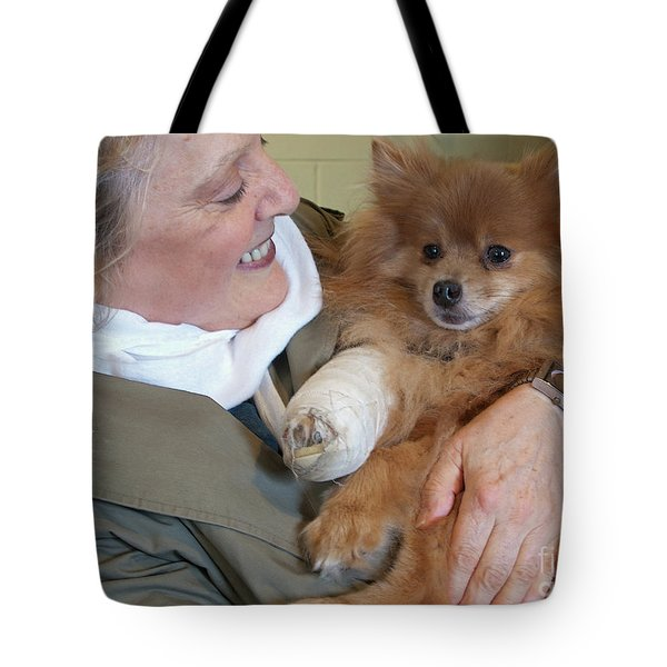Be Better Soon Tote Bag by Ann Horn