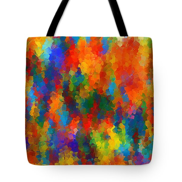 Be Bold Tote Bag by Lourry Legarde